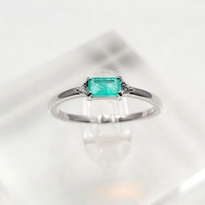 Sterling Silver Paraíba Tourmaline Ring